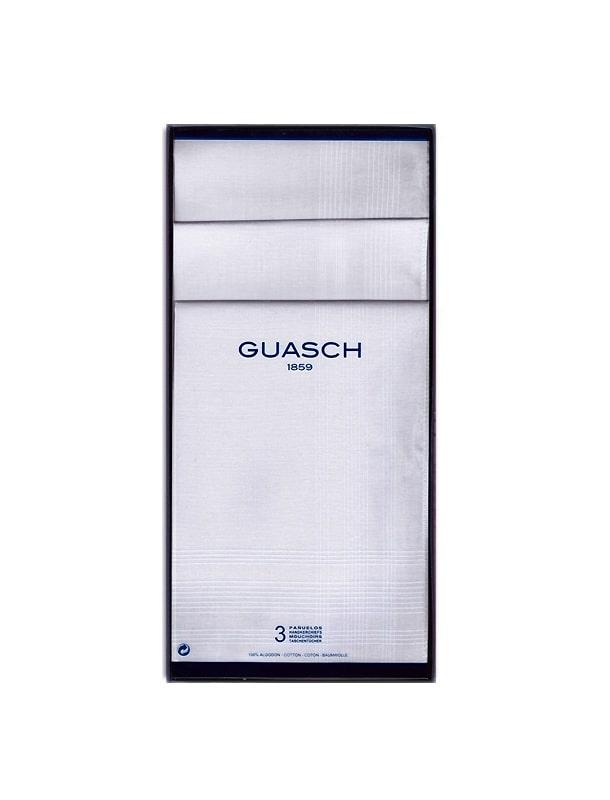 Guasch Caja 3 Pañuelos Blancos