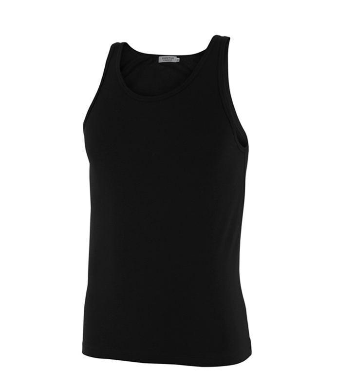 Camiseta Tirantes Impetus Luxury negra, en Hilo