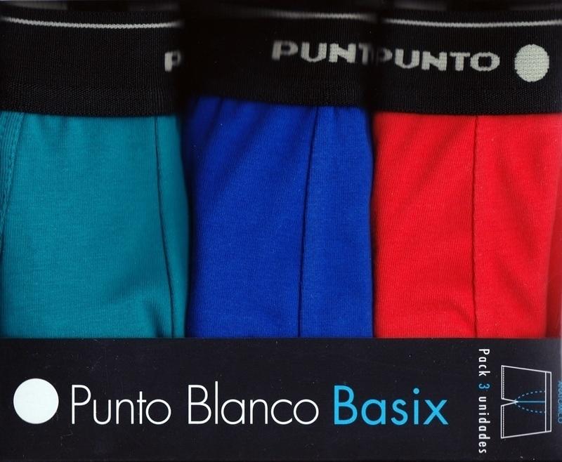 3 Pack de Punto Blanco