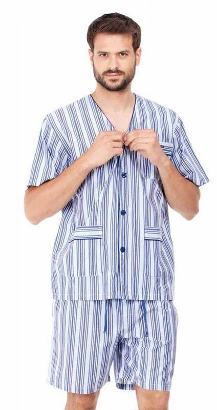 Pijama Azul Listado, Pettrus Man