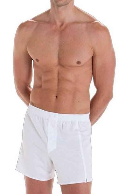 Boxer Punto Blanco Básico en algodón 100%