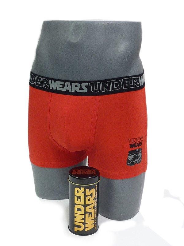 Boxer Admas Black Star en Rojo
