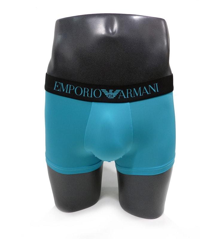 Boxer Emporio Armani Underswin Azul Celeste