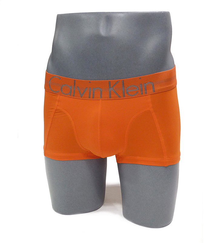 Boxer Calvin Klein Focused Fit en naranja