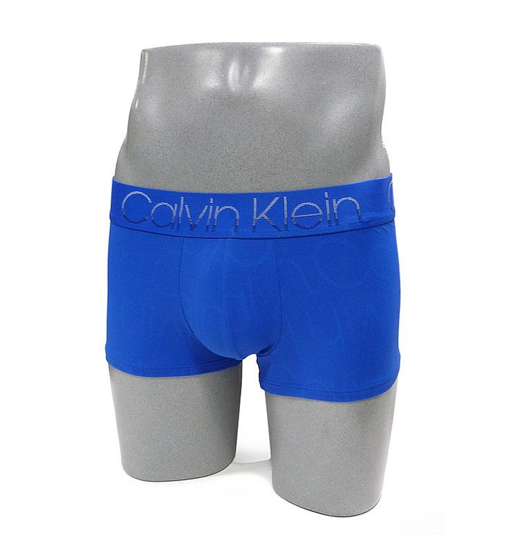 Boxer Calvin Klein microperforado en azul