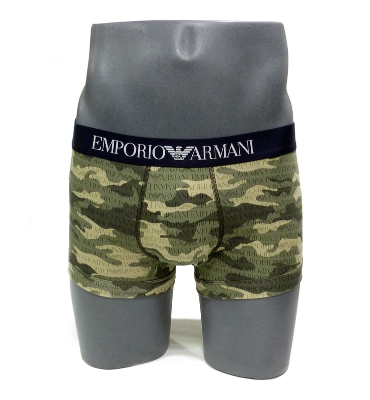 Boxer Emporio Armani Algodón Camuflaje