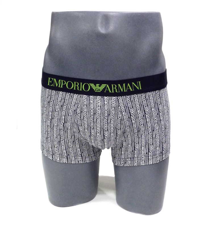 Boxer Emporio Armani Algodón Chevron