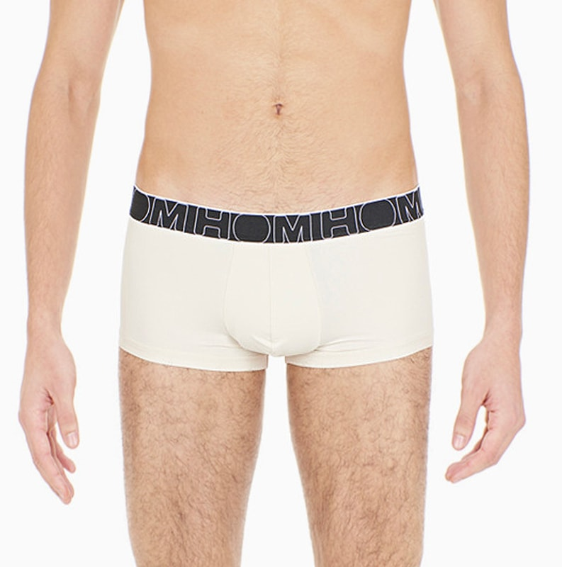 Boxer HOM Soft Briefs en blanco