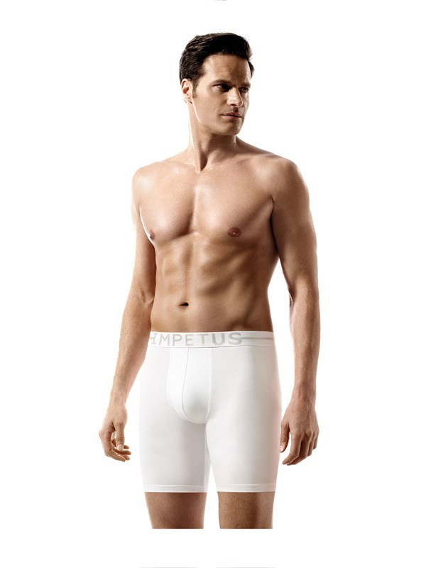 Boxer Impetus Cotton Strech extra largo en blanco