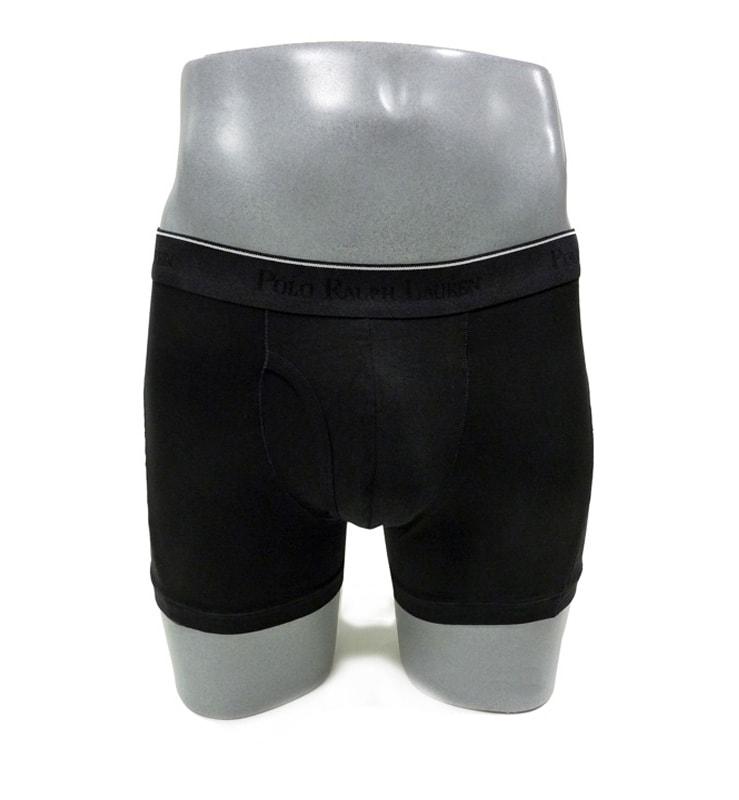 Boxer Polo Ralph Lauren con abertura negro