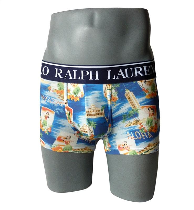 Boxer Polo Ralph Lauren Aloha Print en algodón