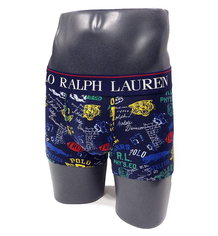 Boxer Polo Ralph Lauren estampado en azul marino