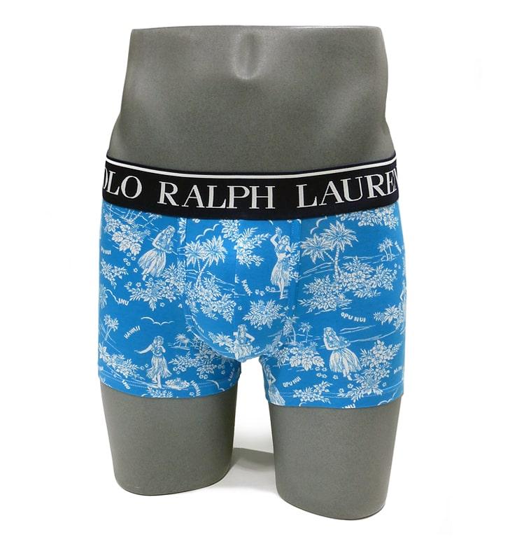 Boxer Polo Ralph Lauren mod. Hawái en azul caribeño