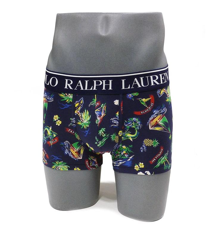 Boxer Polo Ralph Lauren estampado Jamaica en azul
