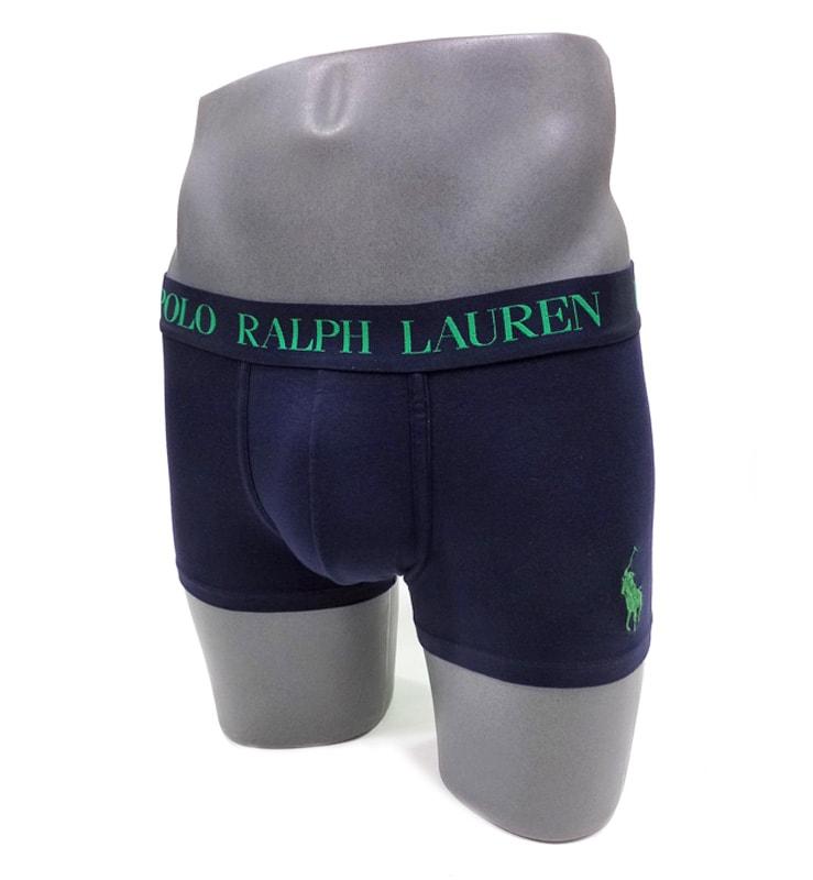 Boxer Polo Ralph Lauren Marino y Verde