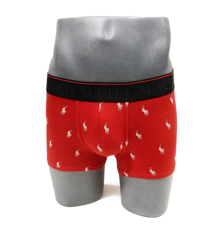Boxer Polo Ralph Lauren Logo en rojo