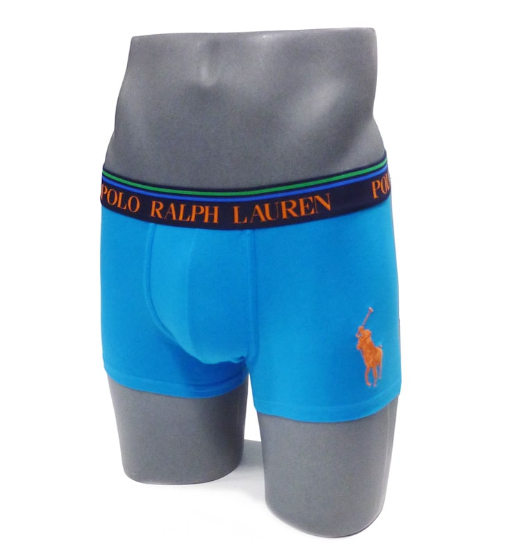 Boxer Polo Ralph Lauren en azul turquesa
