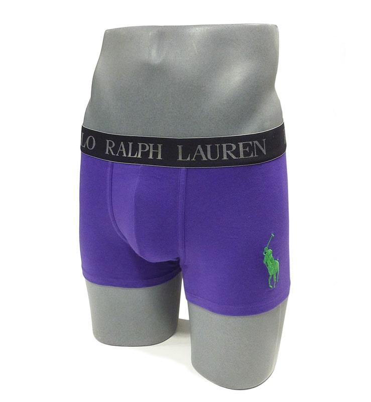 Boxer Polo Ralph Lauren en algodón en color violeta