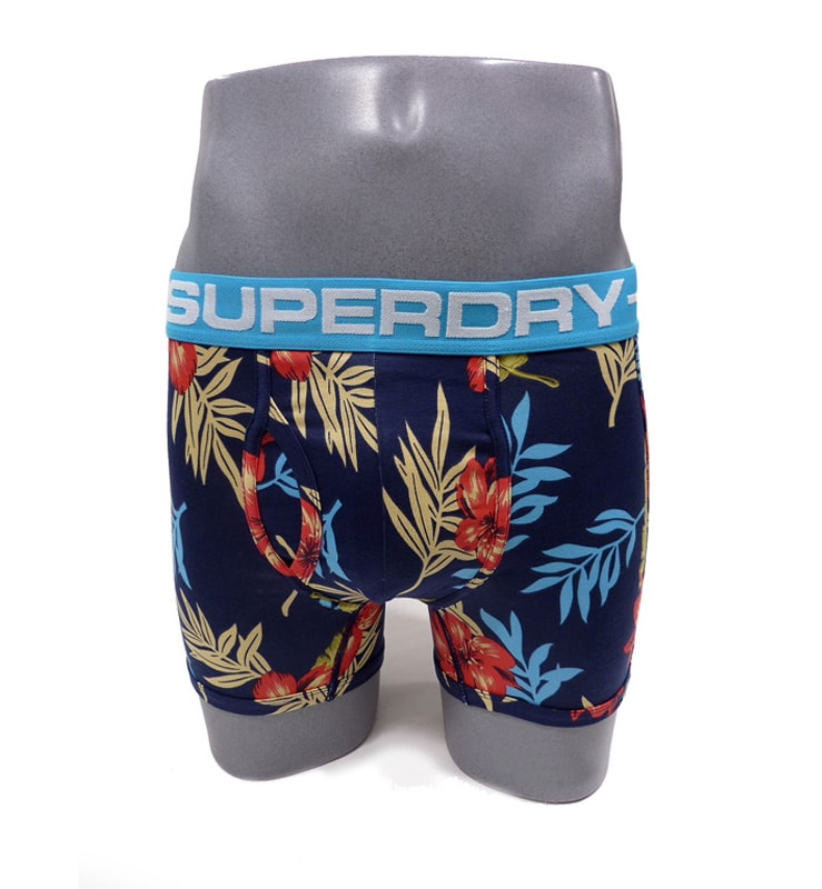 Boxer Superdry Hawaiian Hibisco