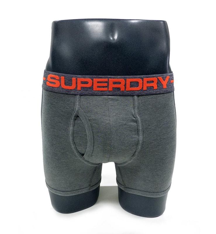 Boxer Superdry Sport Gris