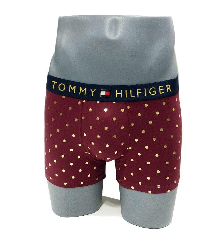 Boxer Tommy Hilfiger en Organic Cotton con lunares metálicos