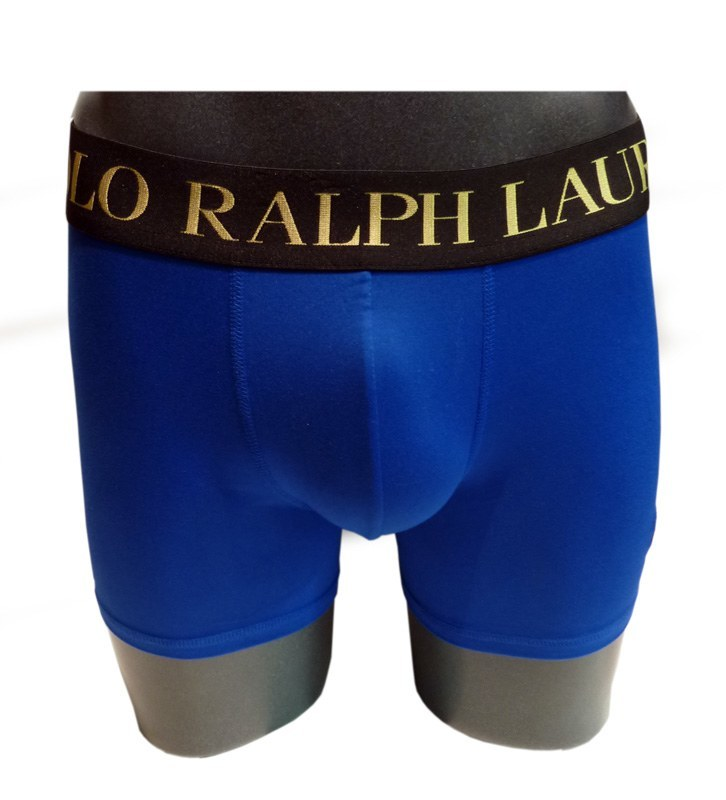 Boxer Polo Brushed Microfiber Pacific Royal