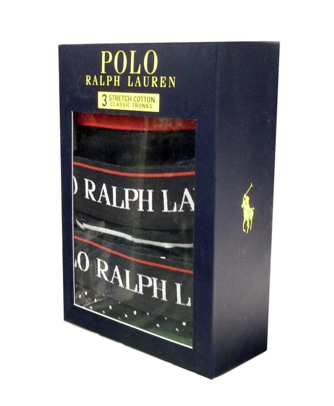 3 Pack Boxers Polo Ralph Lauren en Negro