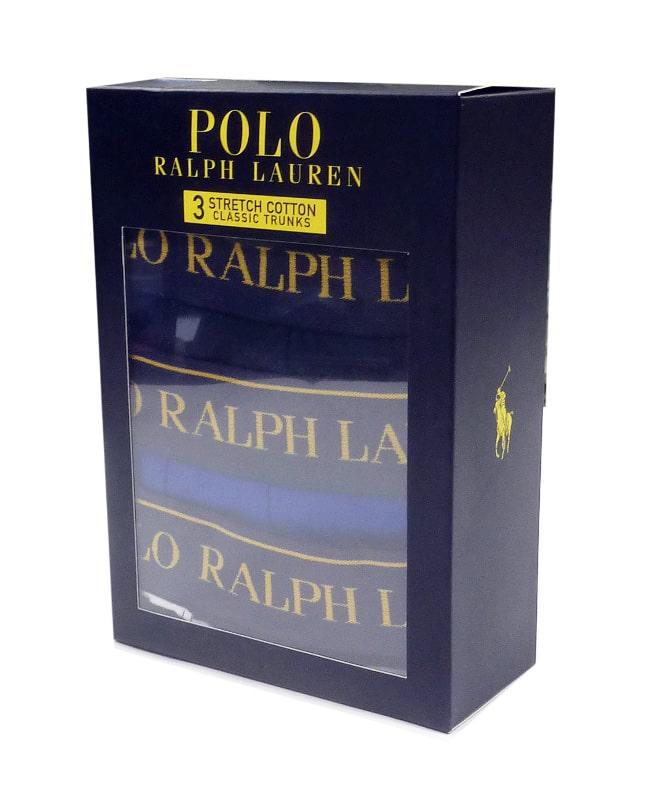 3 Pack Boxers Polo Ralph Lauren MAAR
