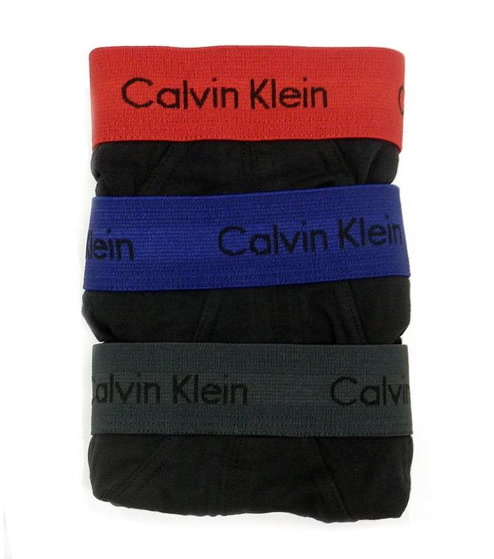 3 Pack Slips Calvin Klein algodón SXZ