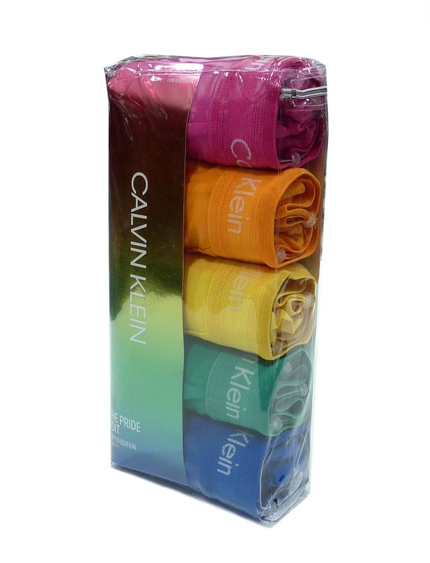 5 Pack Boxers Calvin Klein Rainbow Palette