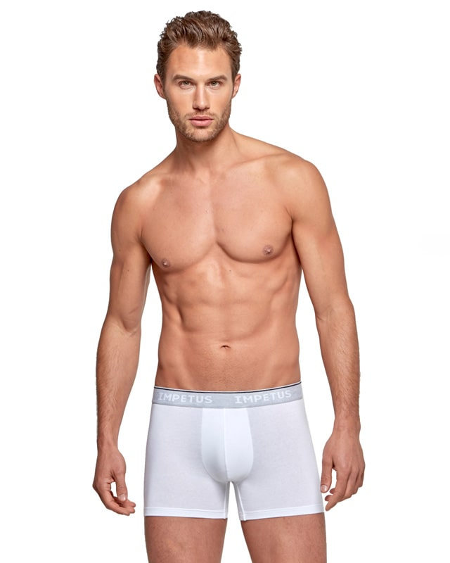 Boxer Impetus Organic Cotton en blanco