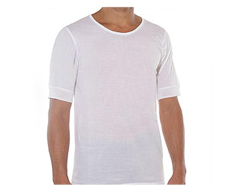 Camiseta Land en Hilo de Escocia cuello redondo
