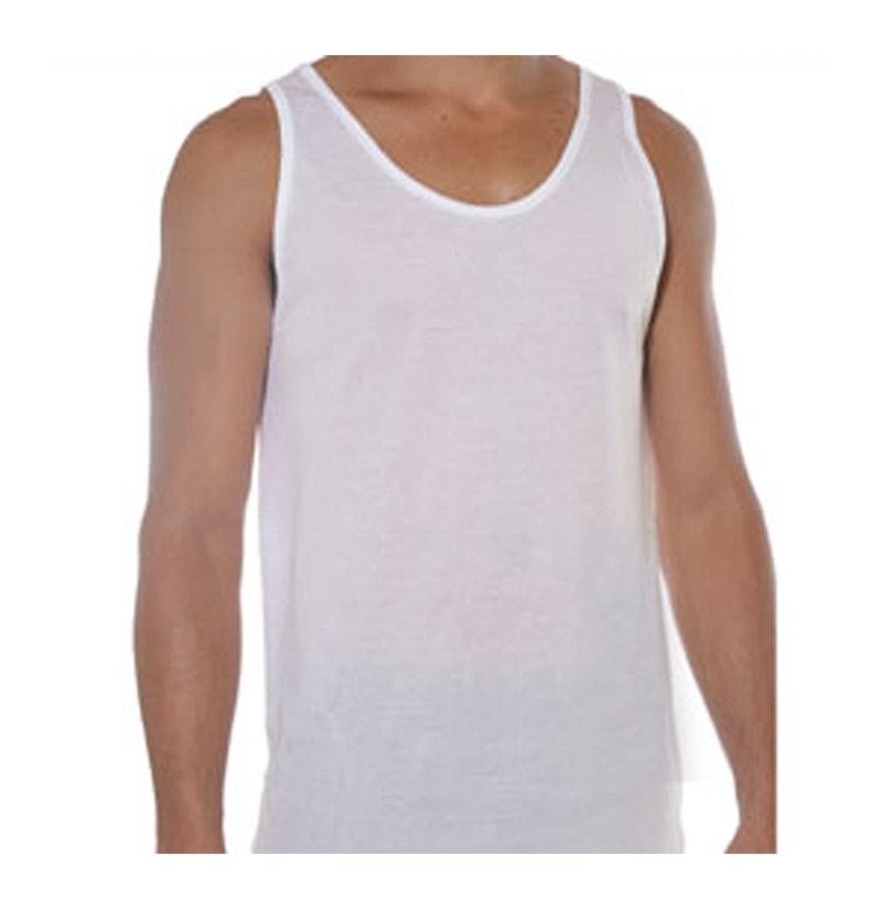 Camiseta hilo de escocia tirantes land la hilandera for Camisetas de interior hombre