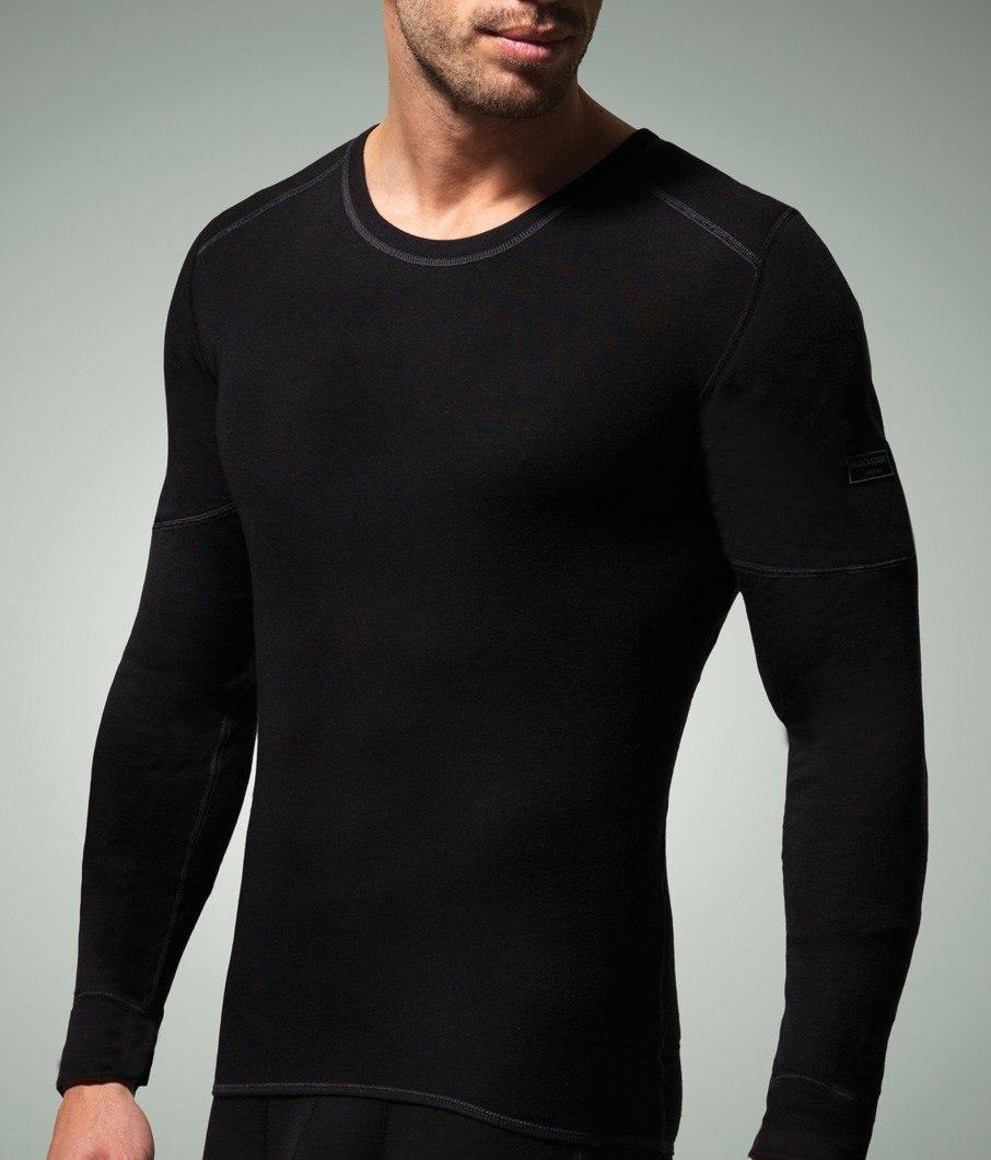 Camiseta M. Larga Térmica Blackspade negro