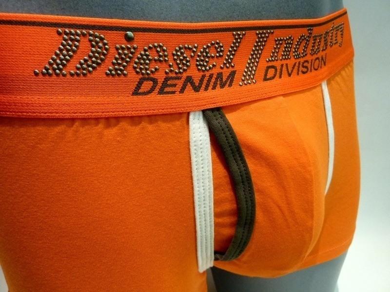 Boxer Diesel Short Semaji, naranja