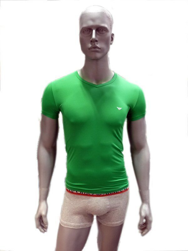 Camiseta Emporio Armani Microfibra