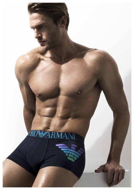 Boxer Armani Metal Shaded Eagle Blue