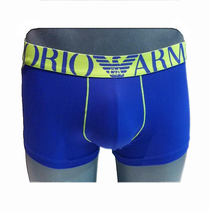 Boxer Microfibra Royal Blue, Emporio Armani
