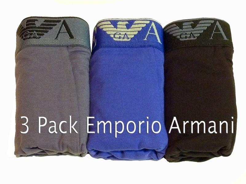 Armani 3 Pack Boxer Algodón