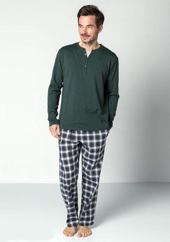 Pijama Guasch Algodón Verde Botella