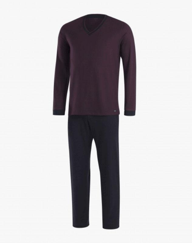Pijama Impetus de Modal mod. Merlion Burdeos