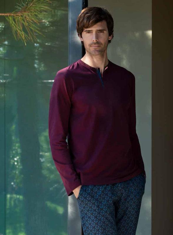 Pijama Impetus de Lyocell y Algodón mod. Topaz