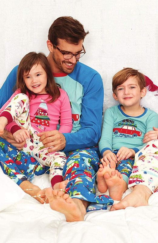Pijama Hombre Little Blue House Retro Festive