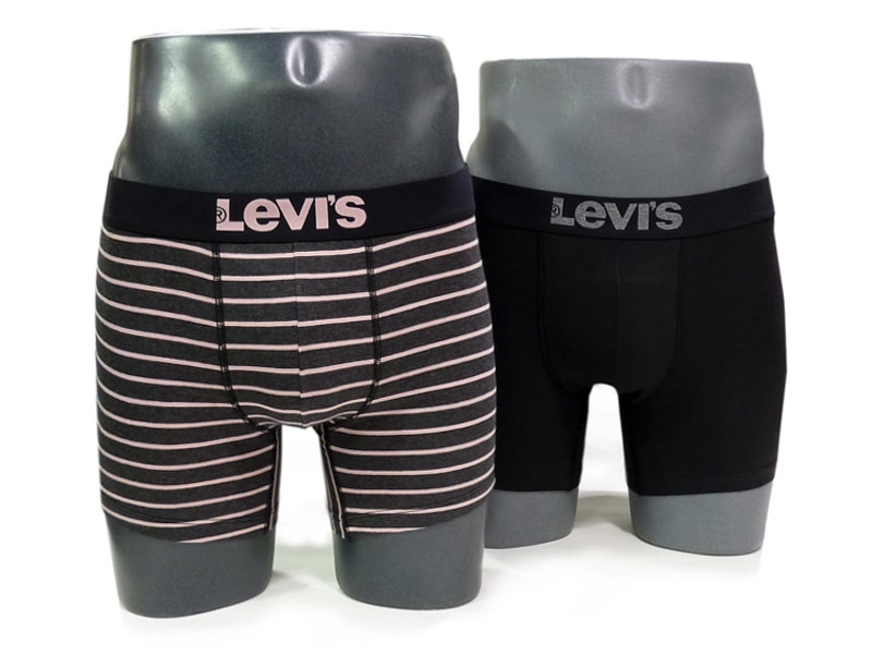 Pack 2 Boxers Levi´s 200 Series Anthracite Melange