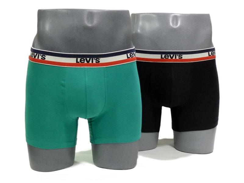 Pack 2 Boxers Levi´s 200 Series Green and Black