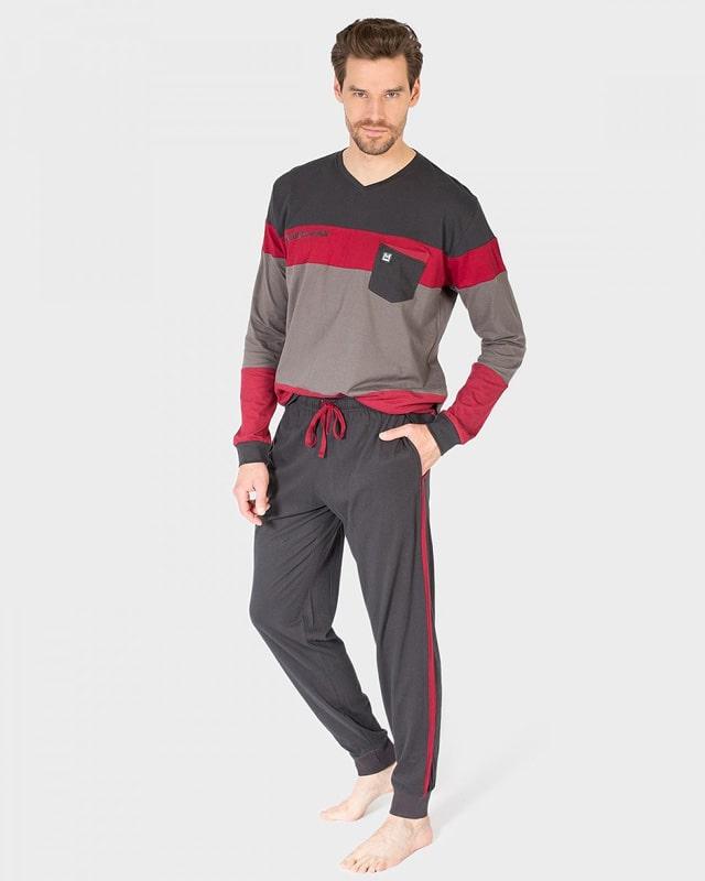 Pijama Massana Hombre con puños