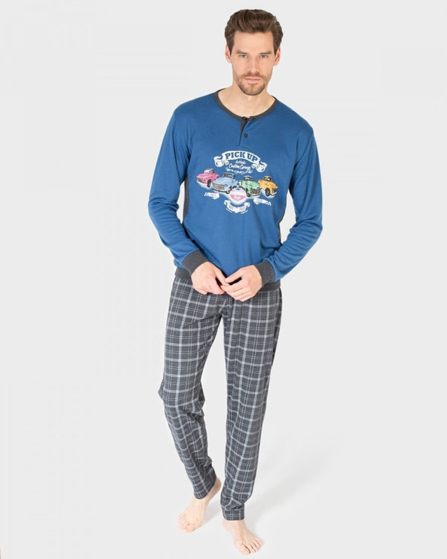 Pijama Massana Hombre Pick Up con tapeta