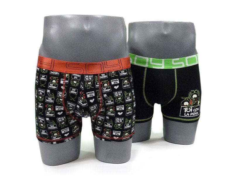 2 Pack Boxers Soy Underwear Toi