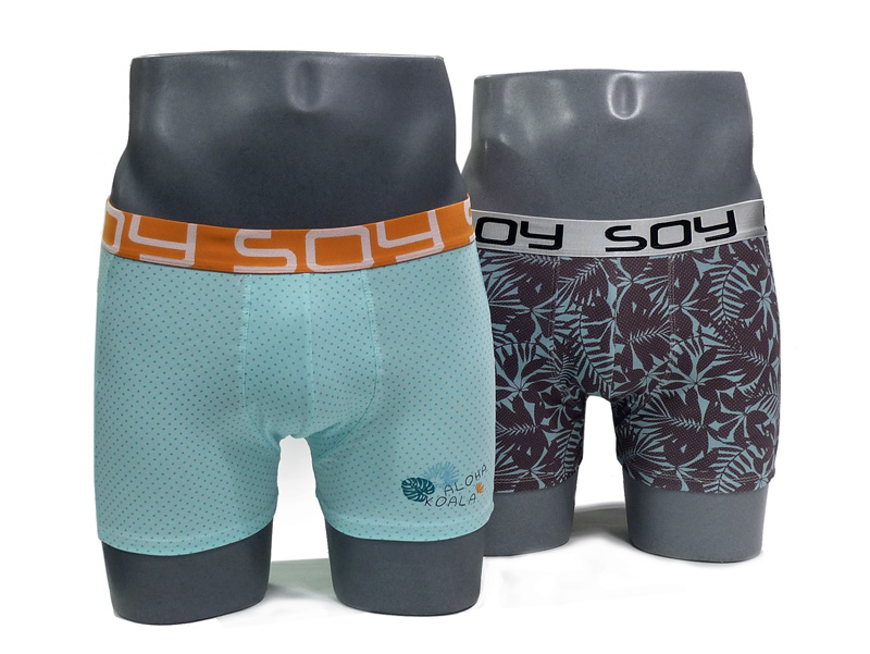 2 Pack Soy Underwear Boxer Aloha Koala