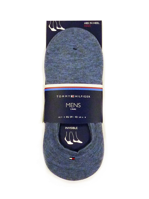 Pack de Calcetines Invisibles Tommy Hilfiger azul jeans